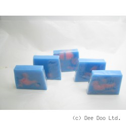 Baby Powder Soap Slice