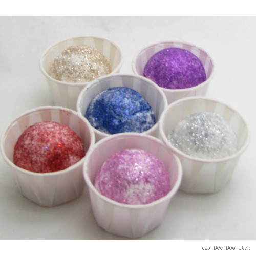 Luxurious Glitter Butter Balls